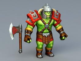 Orc Warrior Concept 3d preview