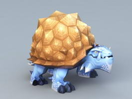 Anime Turtle 3d preview