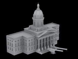 Imperial War Museum 3d preview