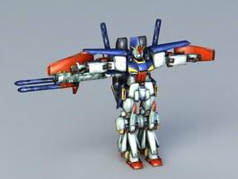 Gundam Fighter 3d model preview