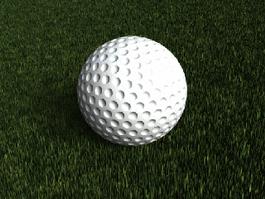 Golf Ball 3d preview