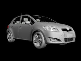 Toyota Auris 3d preview