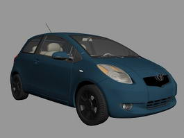 Toyota Yaris Hatchback 3d preview