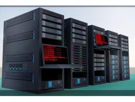 Super Computer 3d model preview