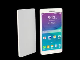 Samsung Note 4 Edge 3d model preview
