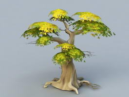 Anime Tree 3d preview
