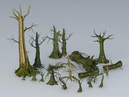Old Dead Trees 3d preview