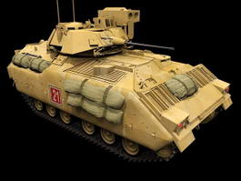 M2A3 Bradley Fighting Vehicle 3d preview