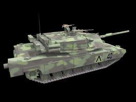 M1A2 Abrams Main Battle Tank 3d preview