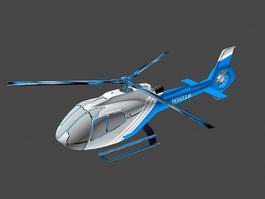 Private Helicopter 3d preview