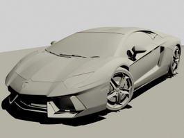 Lamborghini Gallardo 3d preview