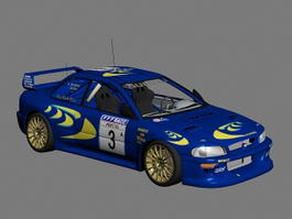 Subaru Impreza WRC 3d preview
