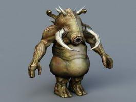 Minotaur Monster 3d model preview