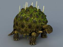 Ancient Tortoise 3d model preview