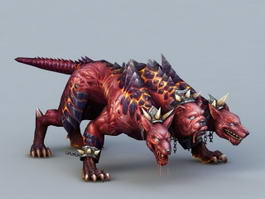 Three-Headed Dog Cerberus 3d preview