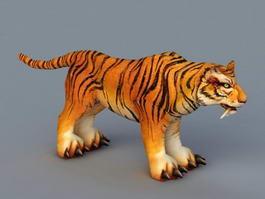 Sumatran Tiger 3d model preview