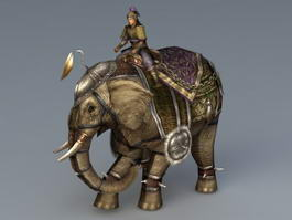 War Elephant 3d preview