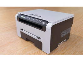 Samsung SCX-4200 Printer 3d preview