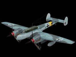 Bf 110 Night Fighter 3D Model