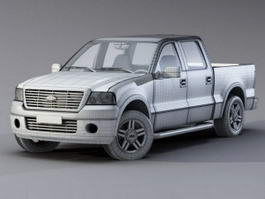Ford F-150 Raptor 3d preview