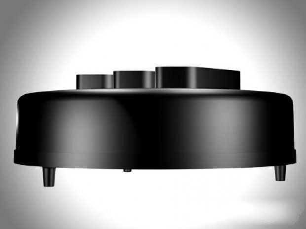 Round Electric Extension Outlet 3d rendering