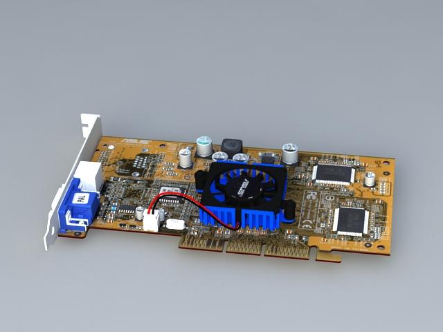 NVIDIA GeForce 440 3d rendering