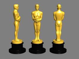 Oscar Award Statue 3d preview
