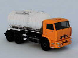 Oil Tank Truck 3d preview