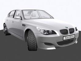 BMW M5 Sport Sedan 3d preview