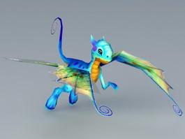 Faerie Dragon 3d model preview
