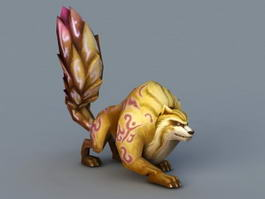 Squirrel Monster 3d preview