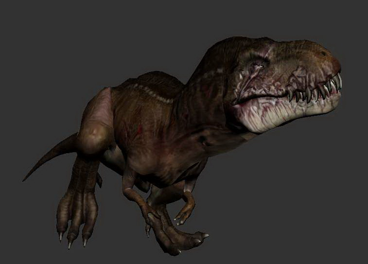 Vastatosaurus Rex Dinosaur 3d rendering