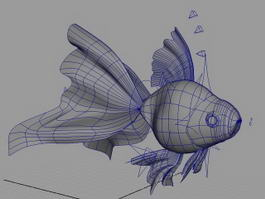 Goldfish Rig 3d preview