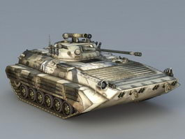 Modern Light Tank 3d preview