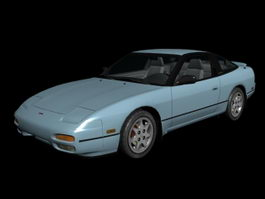 Nissan 240SX 3d preview