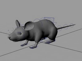 Rat Mouse Rig 3d preview