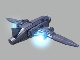 Future Starship 3d preview
