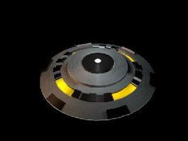 U.F.o Spaceship 3d preview
