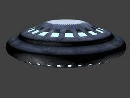 Alien Spaceship 3d preview