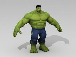 Marvel Hulk 3d preview
