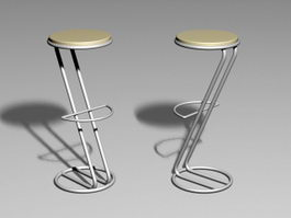 Bar Stool 3d preview