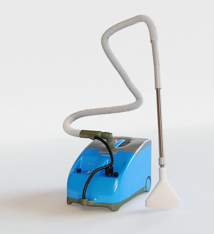 Thomas Vacuum Cleaners 3d rendering