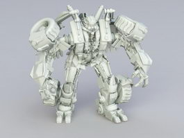 Transformers Character 3d preview