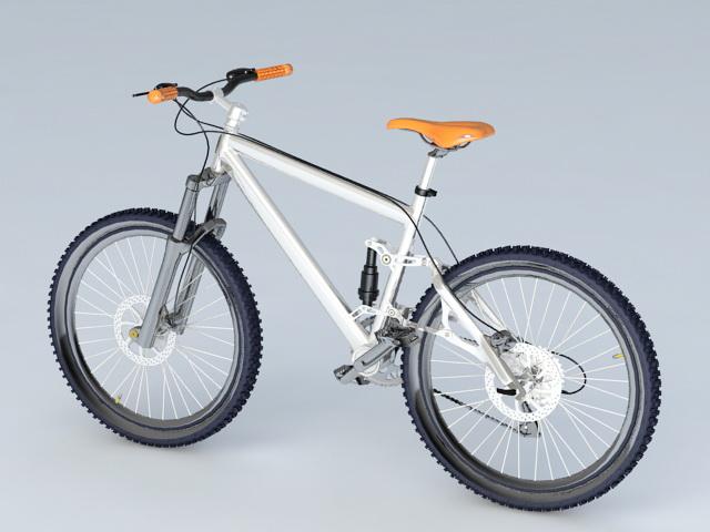 Touring Bike 3d rendering