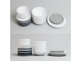 Dinner Ware Set 3d preview