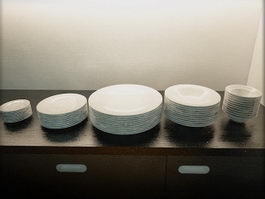 Ceramic Dishes 3d preview