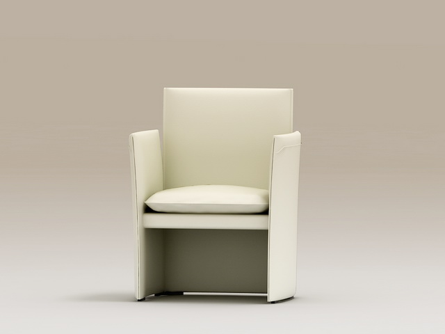 Accent Chair 3d rendering