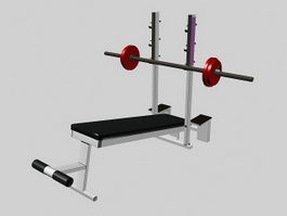 Weight Lifting Equipment 3d preview