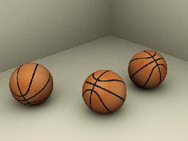 Basketballs 3d preview