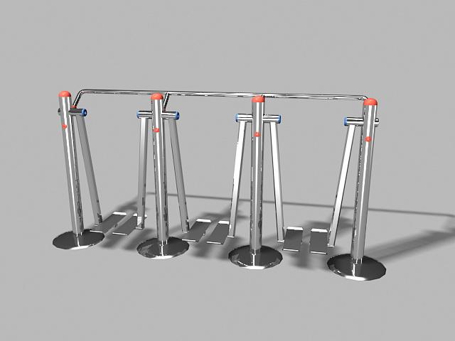 Leg Glider Exercise Machine 3d rendering